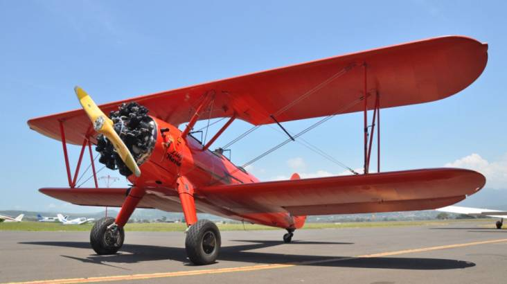 Scenic Biplane Flight over Wollongong