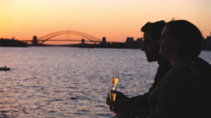 2 Course Dinner and Drinks Cruise on Sydney Harbour - Adult