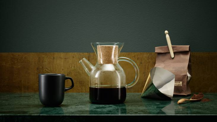 Pour-Over Filter Coffee Maker