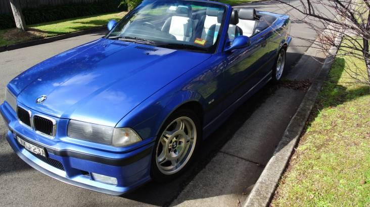 1999 BMW M3 Cabriolet Full Day Car Hire