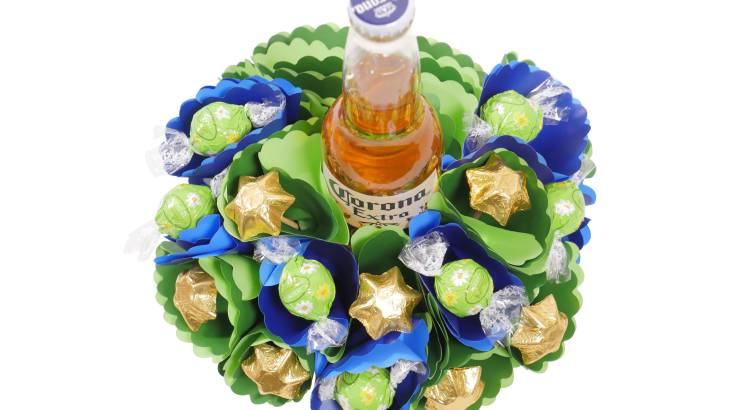 Corona Beer Bouquet