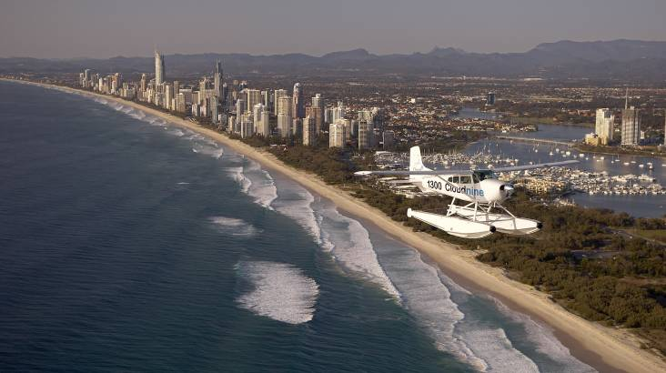 Scenic Seaplane Flight Over the Gold Coast - 30 Minutes