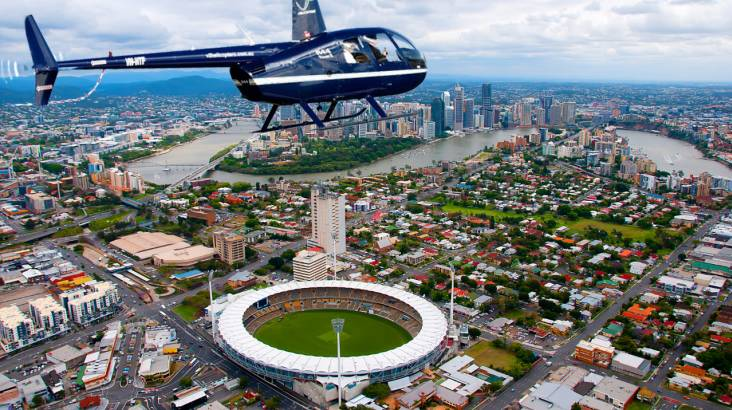 Scenic Flight towards Brisbane CBD - For up to 3