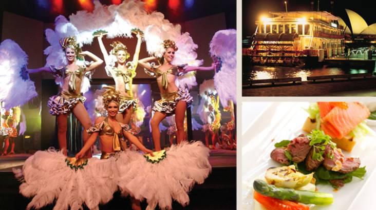 Sydney Harbour Cabaret Dinner Cruise