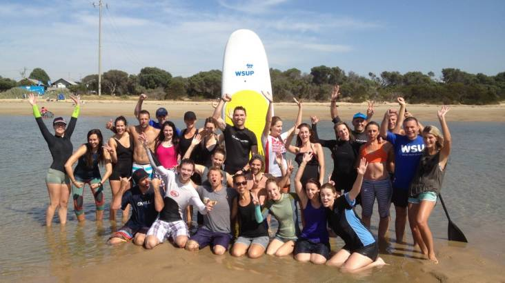 Beginner Group Stand Up Paddleboarding Lesson - 90 Minutes