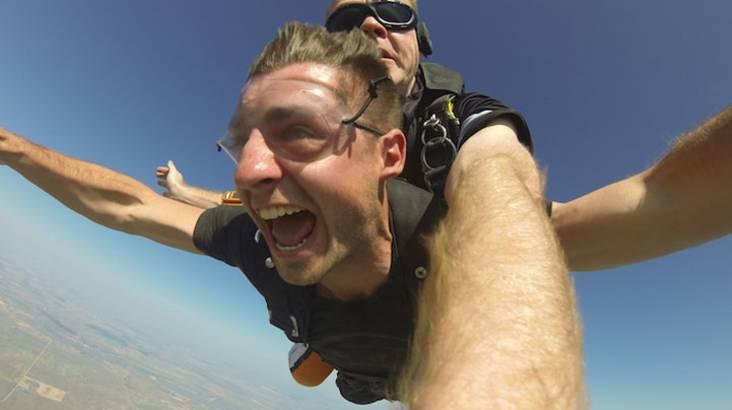 Tandem Skydive - 12,000ft