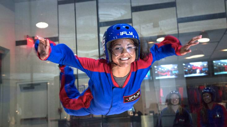 RedBalloon iFLY Indoor Skydiving - 5 Flights