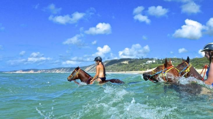 Bareback Ocean Horse Riding - Experience Needed