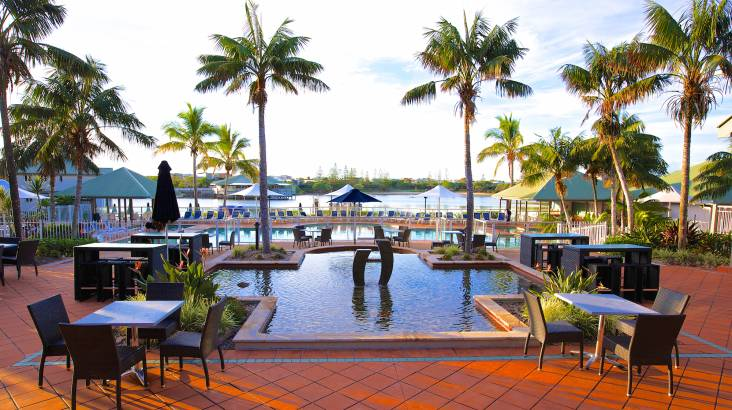 Family Sunshine Coast Stay with Breakfast and Dinner