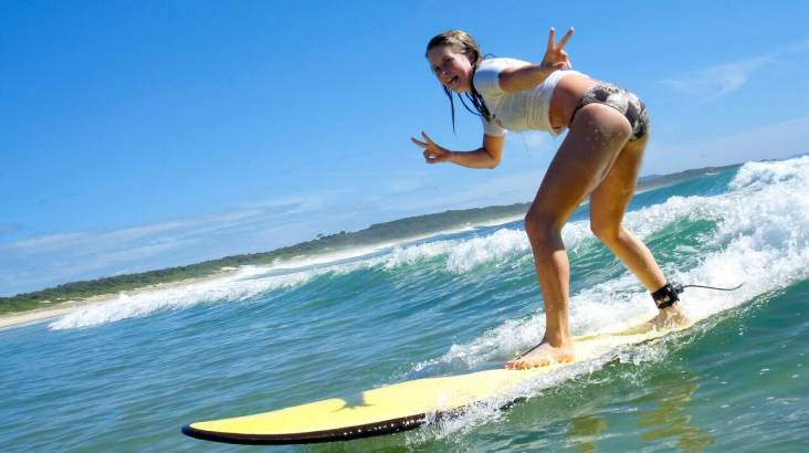 2 Day Weekend Surf Camp with Lessons, Meals and Transfers
