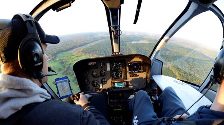 Learn To Fly An R22 Helicopter - 30 Minutes