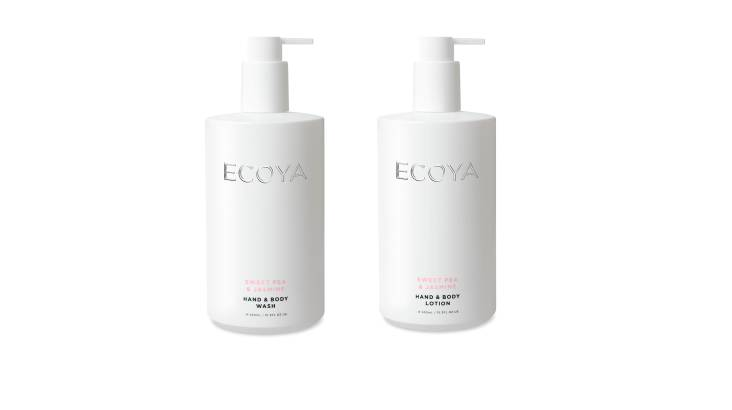 Ecoya Body Wash and Body Lotion Duo - Sweet Pea & Jasmine
