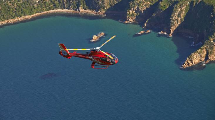 Heli Flight with Phillip Island Penguin Tour and Dinner