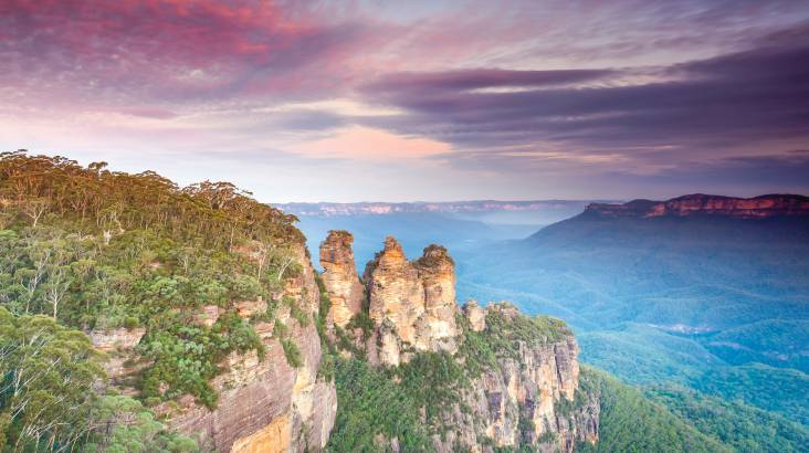 RedBalloon Blue Mountains Sunset Tour with Picnic Lunch