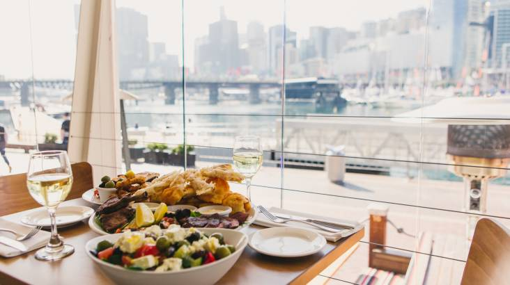 RedBalloon Mediterranean Dining Experience by the Harbour - For 2