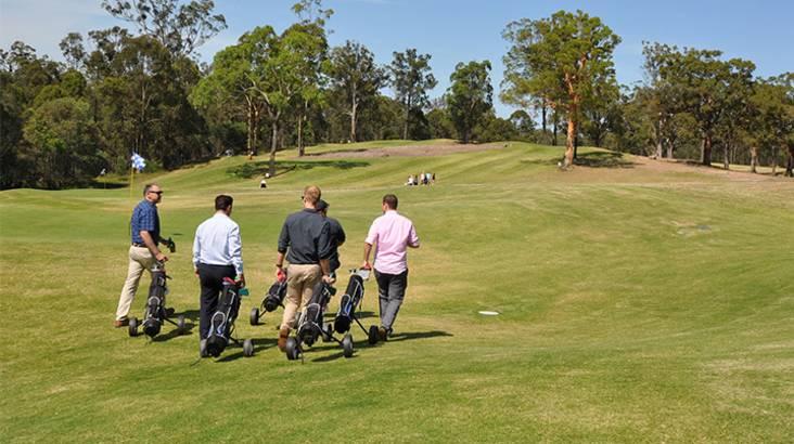 Family Golf Session - For 4