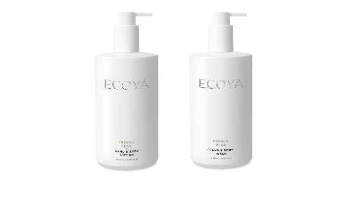 Ecoya Body Wash and Body Lotion Duo - French Pear