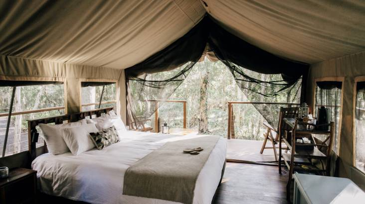 RedBalloon Glamping with Breakfast and Dinner - 2 Nights - Weekend