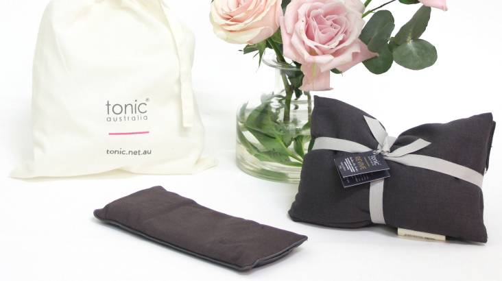 Meditation Gift Pack with Heat Pillow and Eye Pillow