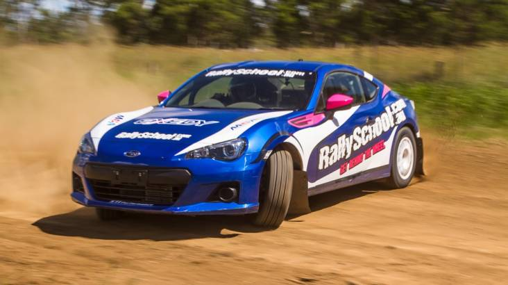 RedBalloon Rally Drive with Hot Lap Experience - 9 Laps - Perth
