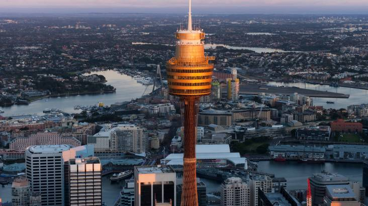 RedBalloon Sydney Tower Eye Entry with 4D Cinema Experience