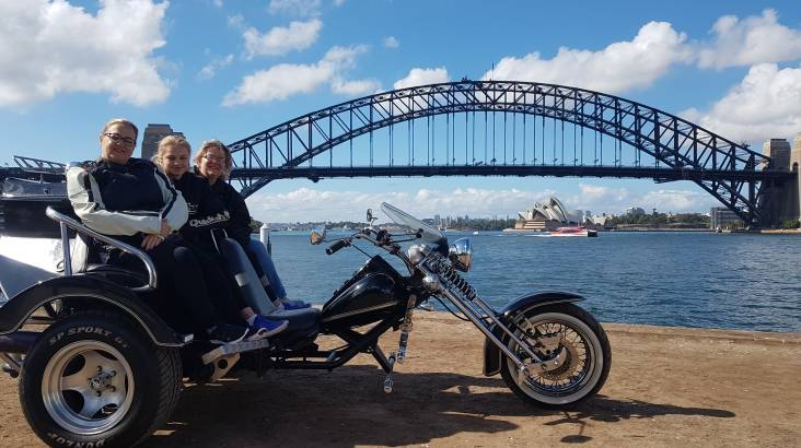 RedBalloon 30 Minute Sydney Harbour Chopper Trike Tour - For up to 3