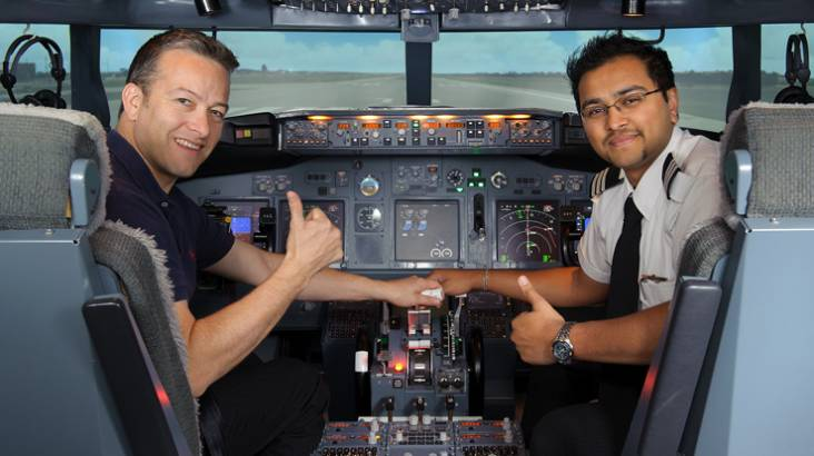 Boeing 737-800 Flight Simulator - 45 Minutes - Parafield SA
