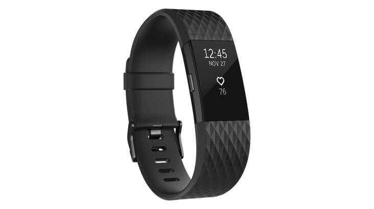 RedBalloon Fitbit Charge 2 Limited Edition - Gunmetal Grey Colour