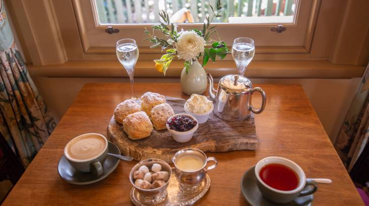 Devonshire Tea and Champagne at a Country Estate- For 2