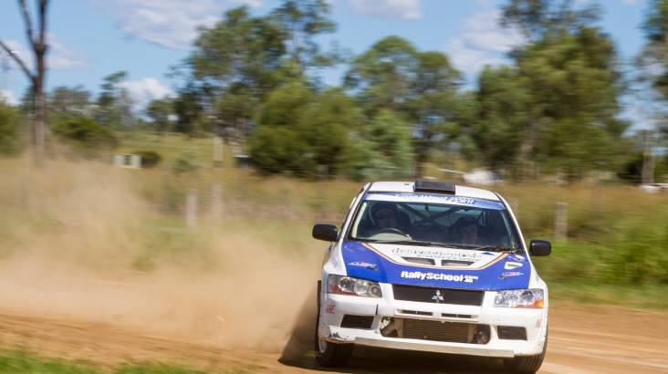 RedBalloon Rally Driving 3 Hot Laps - Perth