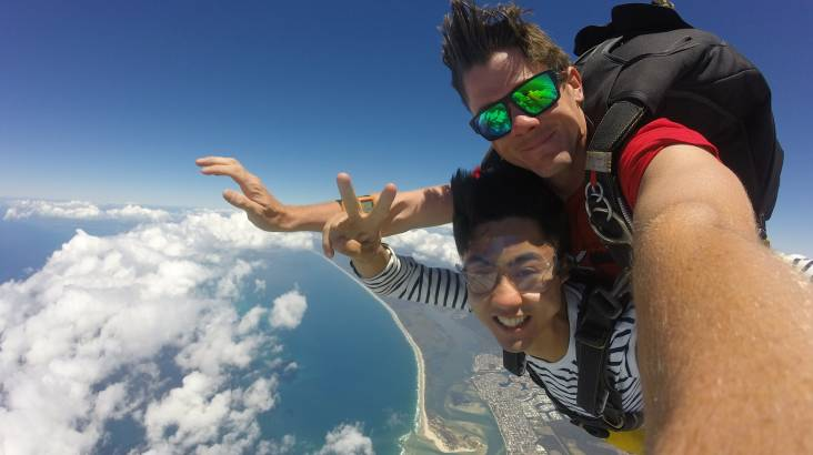 Tandem Skydive Beach Landing 15,000ft - Weekend - Caloundra
