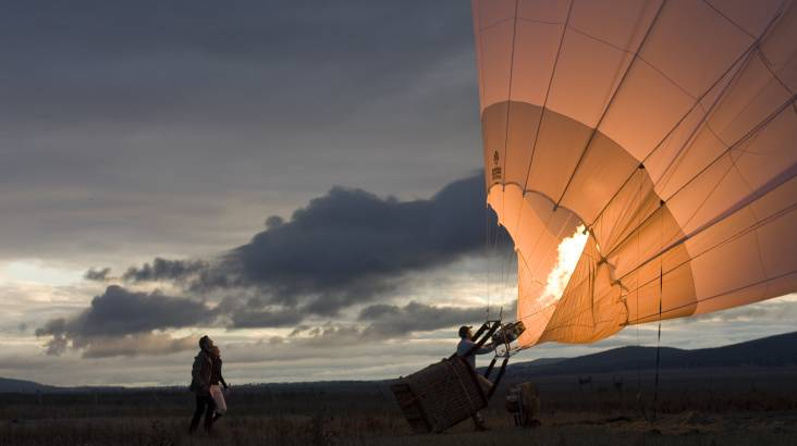 Hot Air Ballooning Over The Yarra Valley - Child
