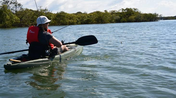 Guided Kayak Fishing Tour