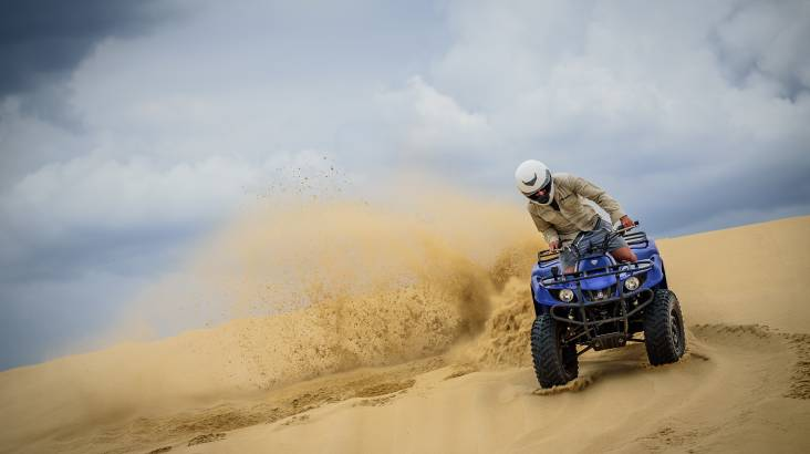 RedBalloon Quad Bike Sand Dune Adventure - Safari Tour
