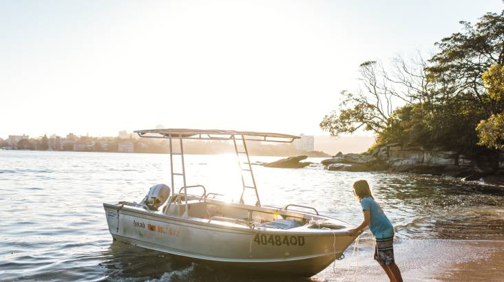 Boat Hire for Fishing - 4 Hours - For 4
