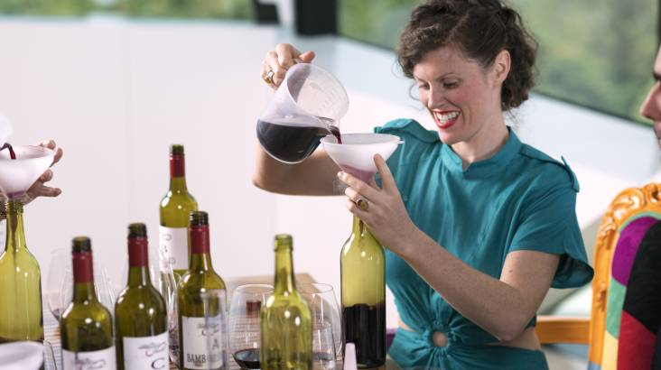 Wine Blending Class at d'Arenberg Winery