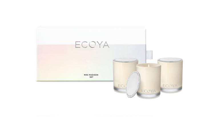 Ecoya Mini Candle Gift Set