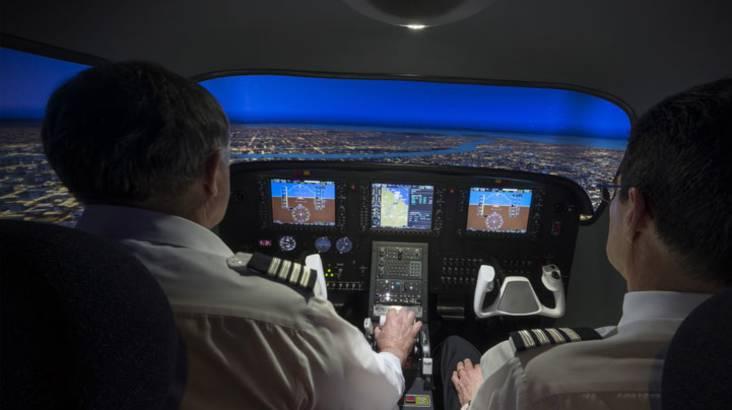 Full Motion Flight Simulator - 60 minutes