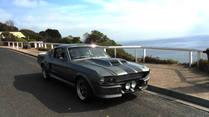 Melbourne Beachside Shelby Mustang Cruise - 90 Minutes