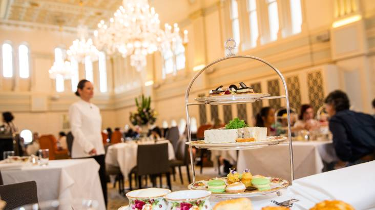 RedBalloon High Tea with Sparkling Wine at The Tea Room - For 2