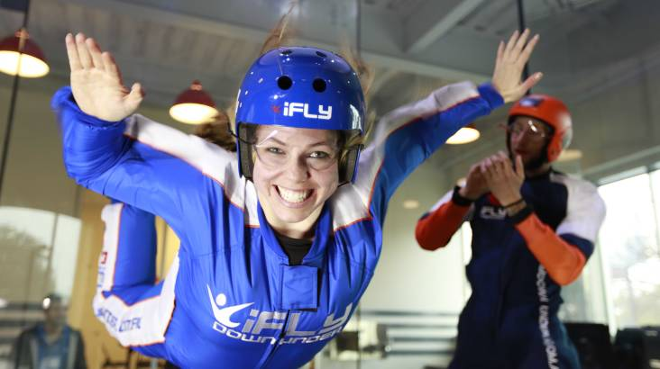 RedBalloon Intro to Indoor Skydiving - 2 Flights - Weekend - Gold Coast