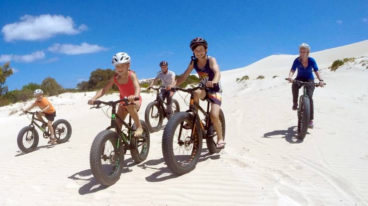 Guided Sand Dune and Bush Bike Tour