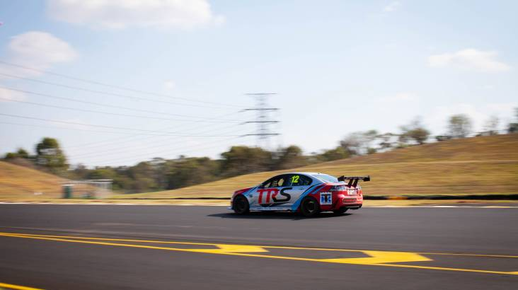 RedBalloon V8 Race Car Driving 6 Laps - Sydney - NSW