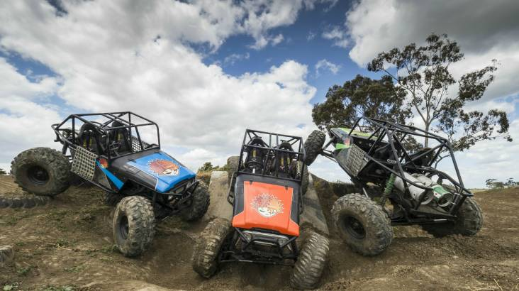 RedBalloon 4WD Adventure Drive and Passenger Lap - 2 Courses - Weekend