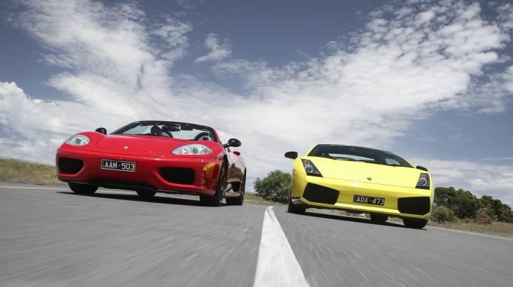 Drive a Lamborghini and Ferrari - 60 Minutes