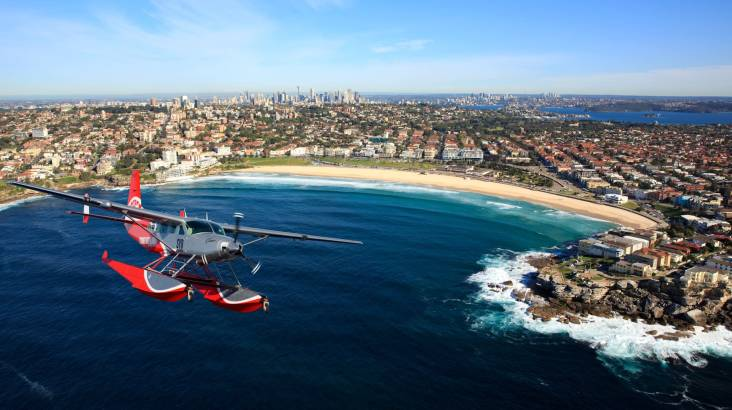 Sydney Harbour Seaplane Flight with Free Champagne - For 2