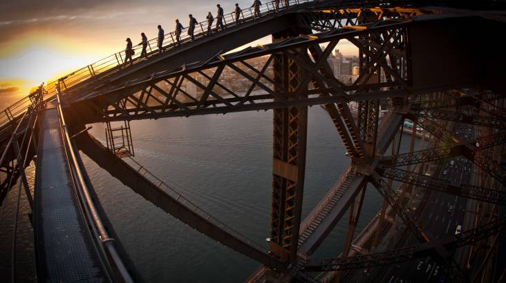 Sydney Harbour Bridge Twilight - Weekday - Child
