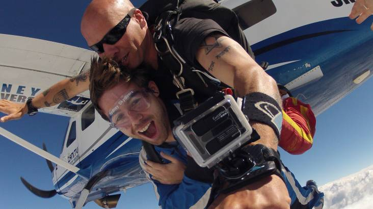Tandem Skydive - Picton - 14,000ft - Weekend