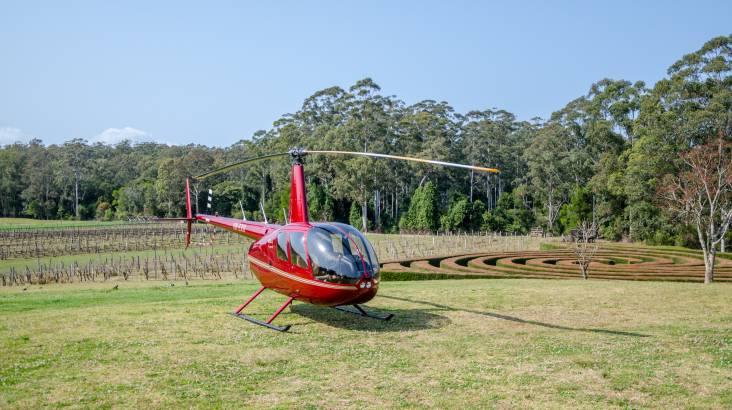 Helicopter Flight with Winery Stop and Tastings - For 2