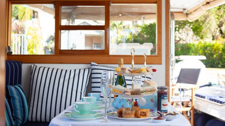 RedBalloon Private High Tea at Sea - For 2